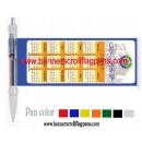 Calendar banner pen 1100,Flag Pen,Scroll Pen,Flyer Pens,Info Pen